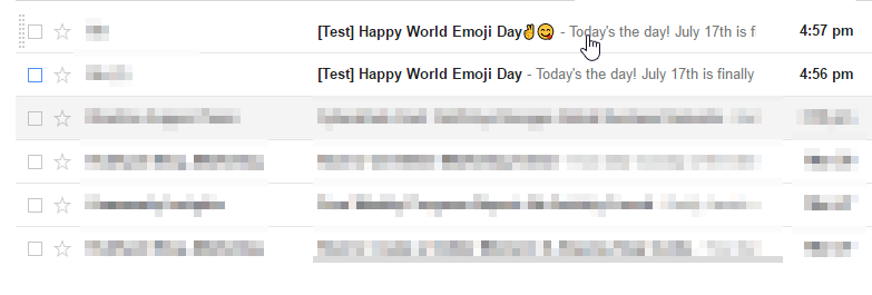 World Emoji Day Subject 1