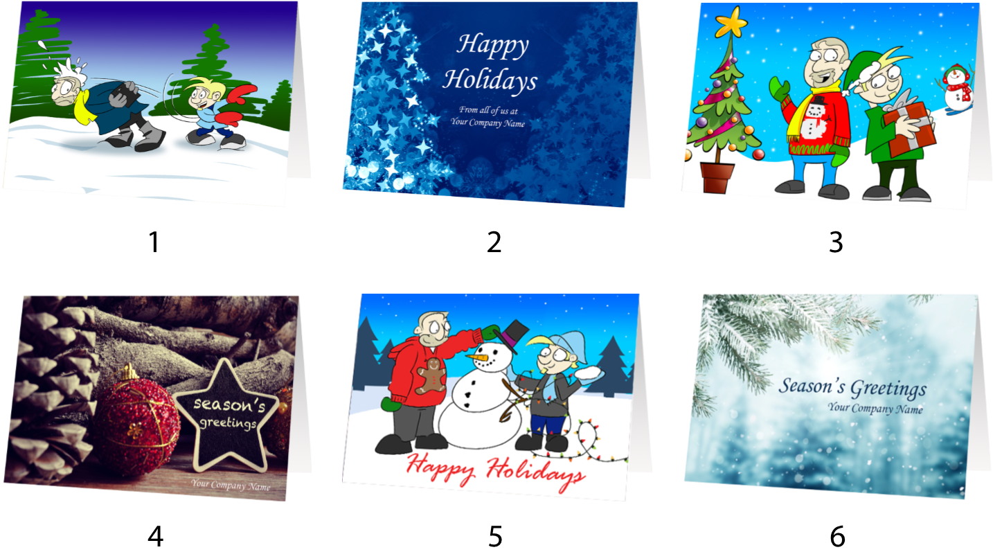 Your Personalized Holiday Card Collection