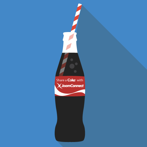Share A Coke with JoomConnect