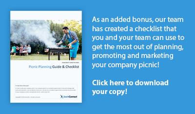 company picnic checklist template
