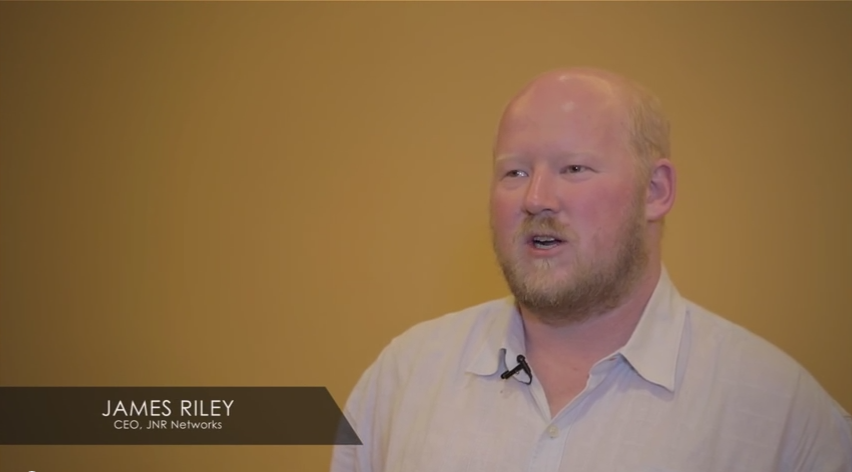 James Riley talks about how his website reflects the branding and culture of his company.